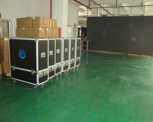 Indoor Thin Rental Led Screen Cabinet