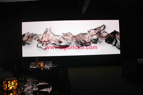 PH6mm indoor stage background led display