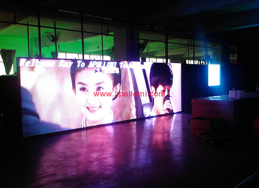 outdoor rental led screen cabinets