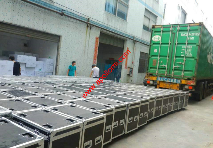 led screen delivery