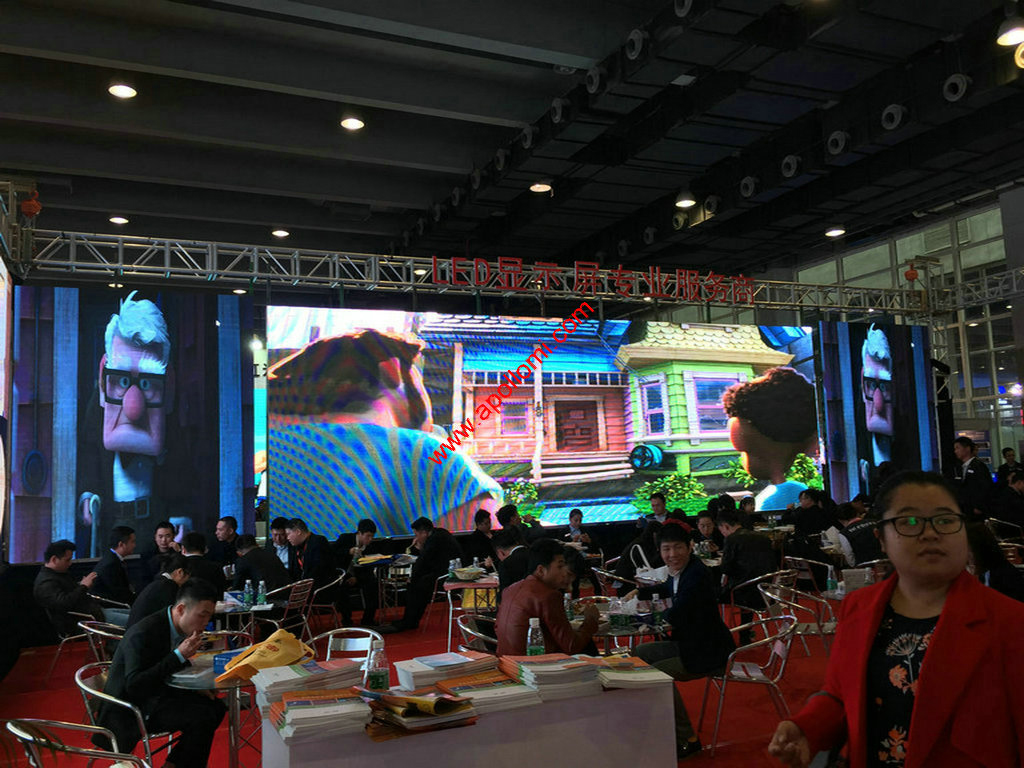 led display show