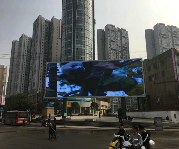 Taiwan Big Square P8 Video LED Display screen