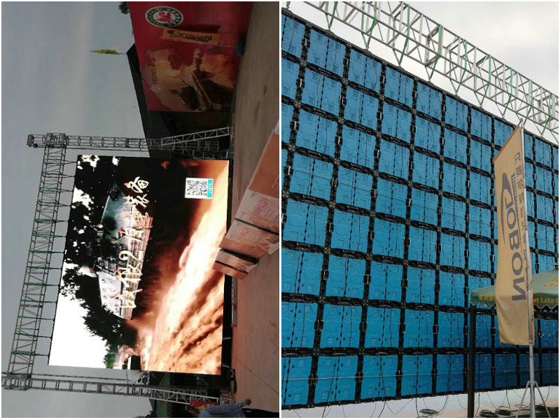 Outdoor P8mm Rental LED Display