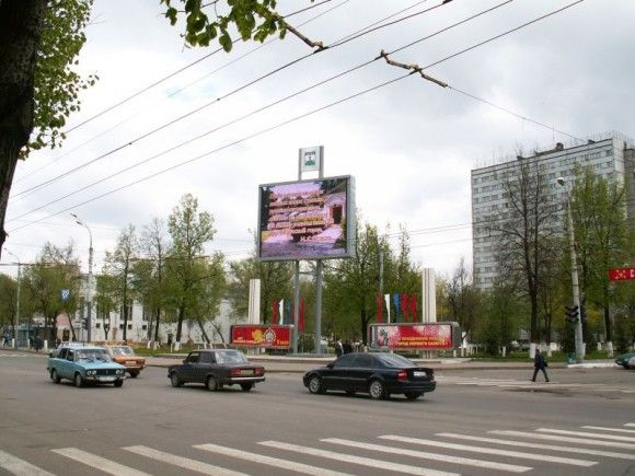 32sqm P16 outdoor electronic advertising led panels