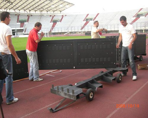 Ph12mm 760sqm Football Led Screen in Croatia