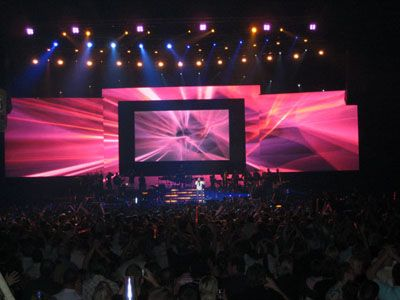 Indoor P10 Stage Led Screen in Holland