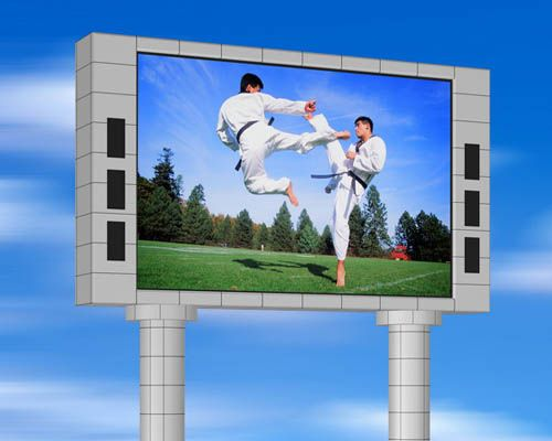 P8 outdoor advertising led sign