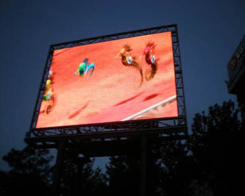 P10 video outdoor advertising led sign