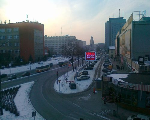 Outdoor P10 Led Screen Display in Poland