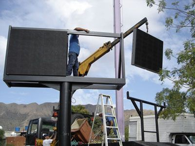 Outdoor Led Screen Installation