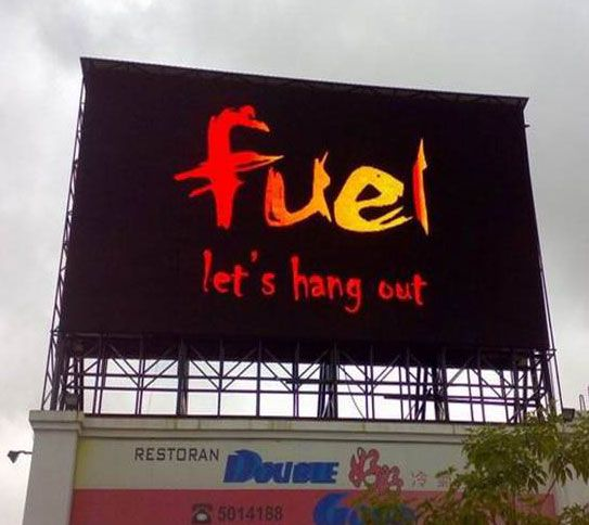 Thailand Outdoor Full color Ads. LED Screen display