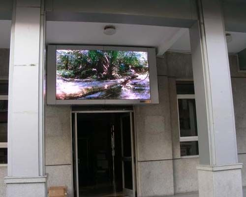 P6 video advertising led panel