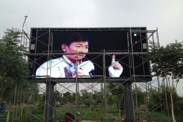 P16 advertising led display screen in China