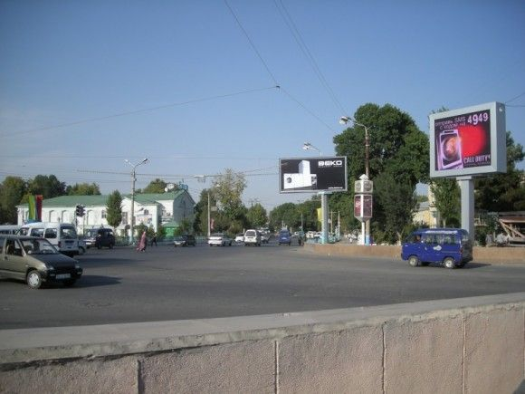 Iraq two street side P16 led advertising billboard