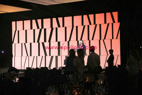 PH3mm indoor stage background led display