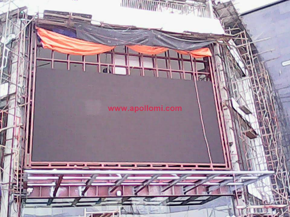 Vietnam super market 102sqm P16 led video wall
