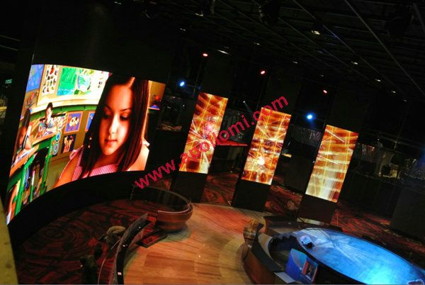 India TV Station 88sqm SMD P4 Led Screen