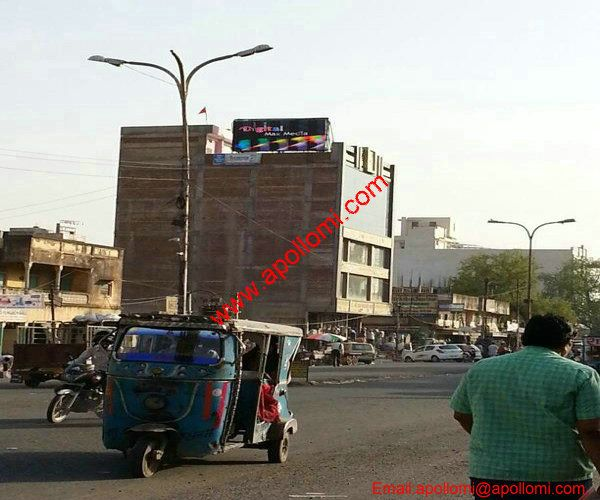 India P16mm Roof  Building Video Led Screen