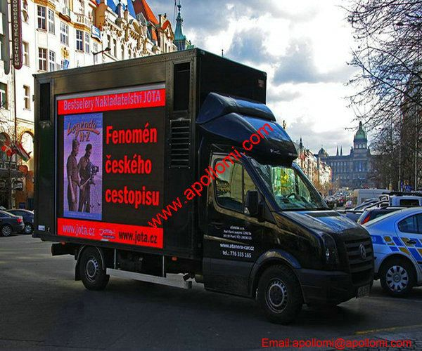 Czech P12 Mobile Truck Trailer LED Screen