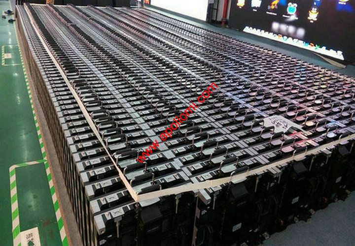 536pcs P5 rental led display cabinets to USA