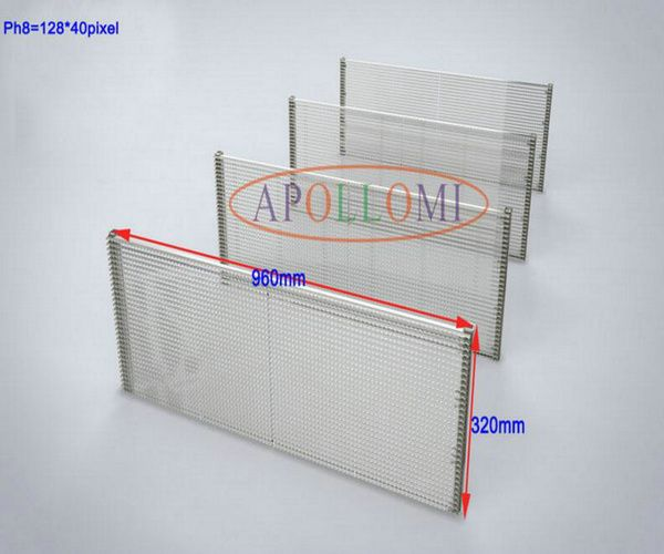 P8 Transparent LED Display Screen