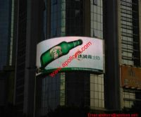 68sqm China P16 Curved LED Screen
