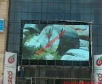 Afghanistan 40sqm Mounted Glass Wall P10 Led Display