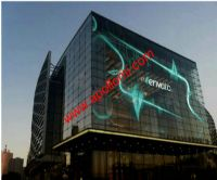 APOLLOMI Transparent Glass Wall LED Screen