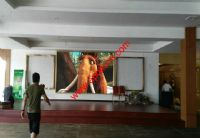 HK Hotel P5 1600X480pixel video led wall