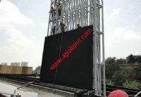 Cuba 120sqm P10 video led sign highway side